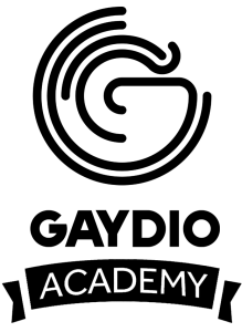 Gaydio academy logo