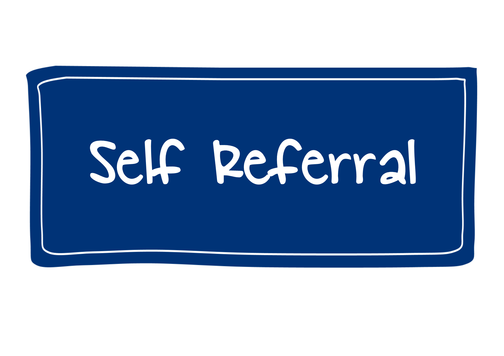 Self-referral button, links to form