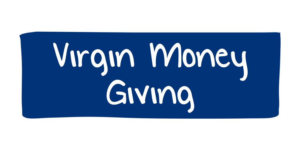 Virgin Money Giving Button