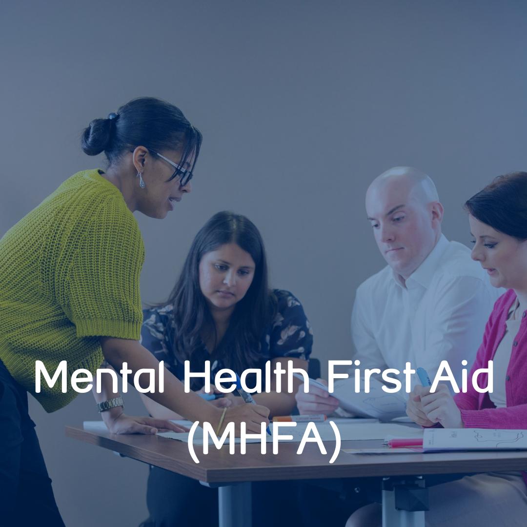 Mental Health First Aid Button