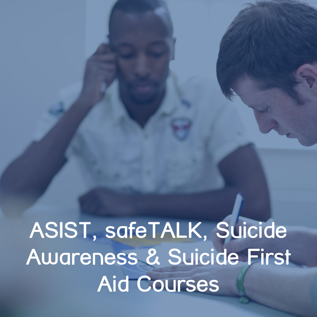 Suicide Courses Button